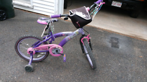 Tinker Bell girls bike