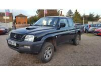 2004 Mitsubishi L200 MOT GREAT WORKHORSE Low Miles Bargain