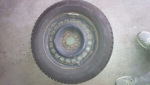 225  60R16 Winter Tires on Rims  (4) Kitchener / Waterloo Kitchener Area image 1