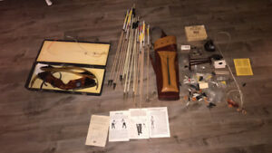 """Herter's perfection mag 58"""" recurve bow and  accessories 350$"""
