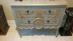 Antique French Style Drawer/Dresser/Belvedere Chest""""