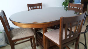 Set  salle a manger style bistrot oval ou ronde