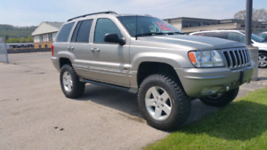 Lifted 2002 Jeep Grand Cherokee