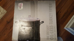 BIG EASY CHAR-BROIL TRU INFARED OIL LESS TURKEY FRYER NEW!.