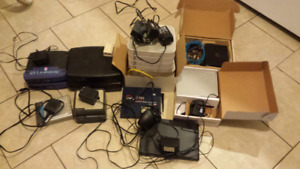 Lot of routers and modems
