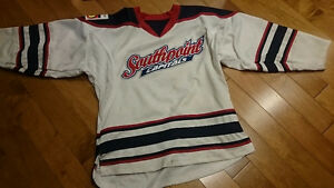 2 Southpoint Capitals #4 Travel hockey jerseys size youth large