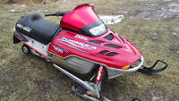 2001 Formula Deluxe 500 with reverse