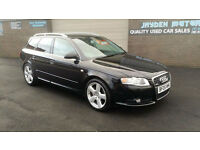 2005 AUDI A4 AVANT 2.0T FSI S- LINE,ESTATE,ONLY COVERED 90000 MILES WITH FSH