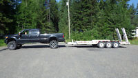 Truck and 20ft Trailer for hire