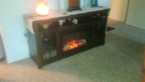 Dimplex-Fireplace/TV stand