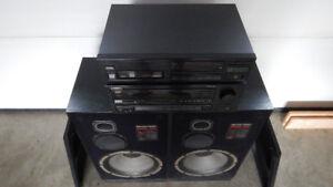Ampli Pioneer VSX-601 avec lecteur CD à 2x chargeur multiple et