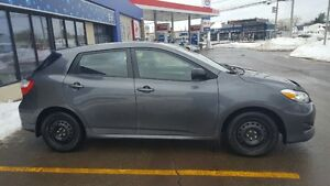 2013 Toyota Matrix Transferable extended warranty included.