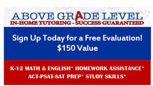 """Above Grade Level"" London,  In-Home Tutoring London Ontario image 6"