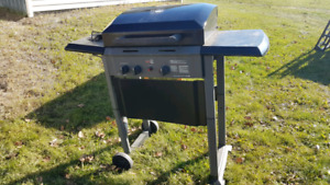 Propane Bbq with side burner