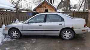 1996 Honda accord no engine lights