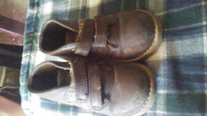 Baby and toddler shoes.