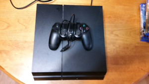PS4 w/Controller and 11 Games