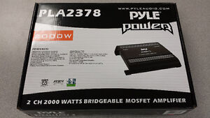 Pyle Power 2000W Bridgeable Car Amp