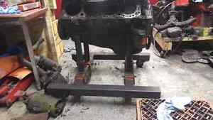 Homemade engine cradle dolly SBC West Island Greater Montréal image 3