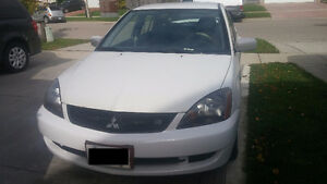 2006 Mitsubishi Lancer Ralliart Sedan + 4 Winter Tires W/RIMS