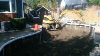 Black Stone Bobcat & Mini Excavator Services $350