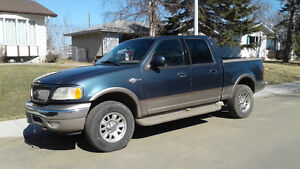 2001 Ford F-150 KingRanch Pickup Truck /trade for travel trailer