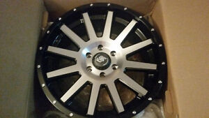 BRAND NEW - L.R.G RIMS - 20×9 / +18 OFFSET  $1000