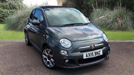 Fiat 500C Twinair 0.9 ( 85bhp s/s ) 2014MY S Grey petrol hatchback Convertible