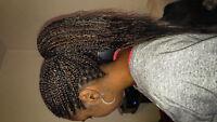 Tresses et coiffure africaines