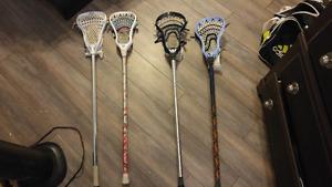 Lacrosse Sticks 50$ each