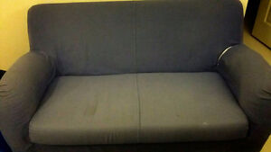 FREE Bed frame and  Couch!!! Pick-up ONLY