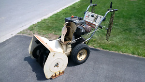 "SNOWFLITE Snowblower 10 HP 26"" Cut"