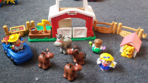 Little People Farm Play Set