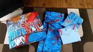 Spiderman twin bed set