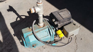 USED 1/3 hp jet pump