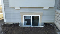 New and Enlarged Egress Basement Windows by Marcotte Glass!