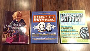 Knitting Books - $5 for all 3