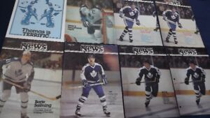 6 SCOTIABANK HOCKEY COLLEGE NEWS MAGS:SITTLER,SALMING,MCDONALD