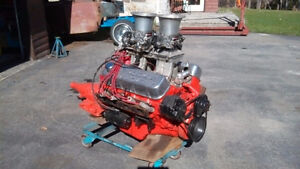 Motor and trans.