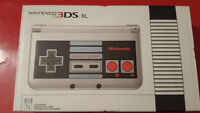 Nintendo 3DS XL NES Edition - Limited Edition - Flawless Conditi