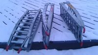 3 aluminum bifold ramps *great condition*