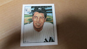 Joe DiMaggio 1983 50 years of Yankee all stars card