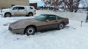 1984 Corvette trade for Trans Am