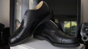 2 PR BLACK OXFORD SHOES-NEVER WORN!! STILL IN THEIR BOXES!!