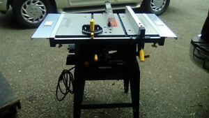 Table Saw 15 Amp Like New!