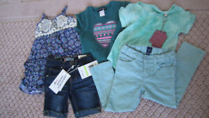 """NEW with tags girl's 5 pcs summer set size 3-4T"""