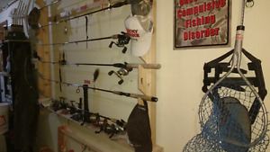 Fishing Rods, Reels, Fish Finders & Lures