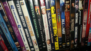 700 DVDs all original with cases mint condition only $1 each if.
