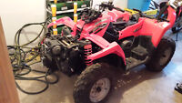 PARTING OUT 2006 POLARIS SPORTSMAN 500 4X4 X2 RUNS AND DRIVES