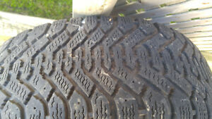 SET OF 4 215 160 R15 TIRES